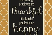 We are Thankful / Family, children, life.