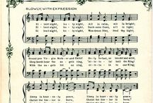 O Christmas Time / Carol's Illustrations on music sheets