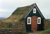 Dream Homes / Unique Homes / Cottages / by Ginger Franz