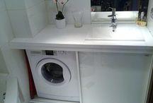 łazienka obudowa pralki
