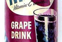 old days food as drinks