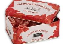 Le Coquelicot de Nemours / Le bonbon au coquelicot est une confiserie connue dans toute la France, née à Nemours vers 1850.