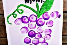 Grape Fun for Kids / Great crafty projects for the little ones (or big ones!)