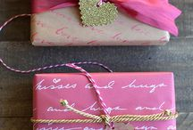 Gift Wrapping Ideas / by Debbi Perry Steinberg