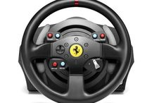 Hi-Tech Gamepad / Discover Ferrari Gamepad Limited Edition: joystick and gamepad suitable for all platforms, high-quality performances and an exclusive design. Buy now online at Ferrari Official Store / by Ferrari Store