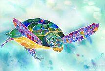 el danzar de las tortugas