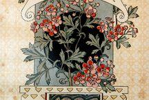 Eugène Grasset - Calendrier 'La belle Jardinière' - 1896