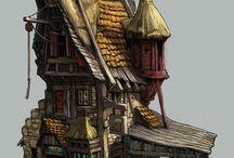 edificios fantasia