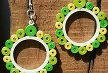 šperky z quilingu / šperky z quilingu