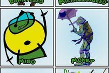 Art Ed. Ninja Turtles