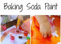 baking soda fizzy paint