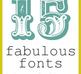 Fonts / by Molly Carter