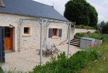 """Gîte Essonne """"La Maison d'Albert"""" / La """"maison d'Albert"""" est une charmante maison ancienne rénovée avec goût et simplicité et située dans une ferme isolée. Le propriétaire accepte gracieusement les animaux au sein du gîte. (G910087)"""