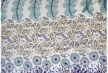 Nos tissus / Nos tissus en vente ici : http://www.un-chat-sur-un-fil.fr/