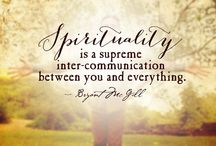 ~ Spirituality ~