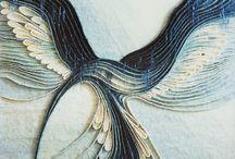 Kubinyi Anna textil alkotások fotói