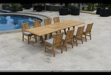 Outdoor/indoor Dining Tables / Furniture.