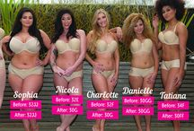 Undergarment Fitting's / Before and After