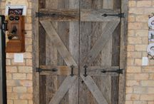 Barn Doors / Barn Doors created/designed by Gleman & Sons (Oviedo, Fl) from Reclaimed & Antique wood
