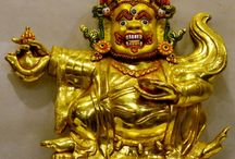 Buddhist Dharma Protector Deity Statues / by Buddha Statues