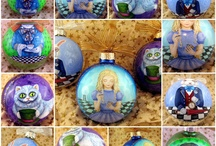 Alice In Wonderland - Christmas / An Alice In Wonderland Christmas crafts and ideas