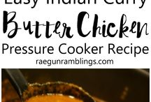 Pressure cooker curry