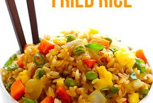 Chinese dishes / Fried rice