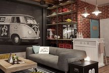 Man cave Yeah / Men's decor living spaces young males