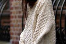 Lavori lana maglia punti