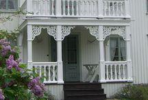 Fasader, inngangsparti