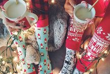 Christmas pj&sock party