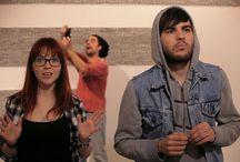 SPACE MEN Web Serie  / SPACE MEN es una comedia ambientada en L'Hospitalet de Llobregat que cuenta la historia de 4 jóvenes que tienen una banda de rock y son visitados por dos seres de otro planeta.  SPACE MEN una producción local que conecta y coordina esfuerzos  creadores entorno a una obra común.