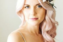 Pastel hair collor