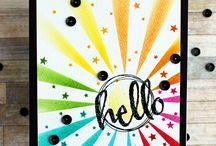 Inspiration - Rainbow Cards