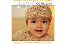 The Scrumptious Baby Collection / The Scrumptious Baby Collection: 8 patterns for little ones aged from 0 to 24 months, including cardigans, hats, legwarmers and a beautiful lace shawl.