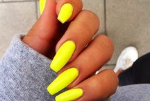 Nails, colorful