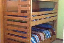 Тройные двухъярусные кровати