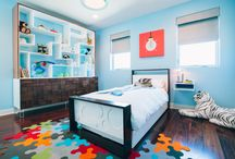 Pop Modern Boy's Bedroom