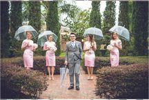 Hochzeitsfotos bei Regenwetter