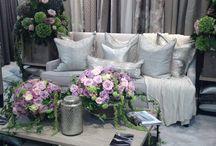 Flowers / Flowers, interior design