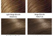 Hair Color Chart / #haircolor #colorchart