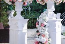 Свадебный декор Оформление свадебной церемонии