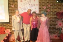 Our 25th Wedding Anniversary 2012 / A summary of some of the party ideas used for our wedding Milestone