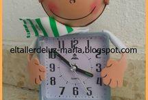 Fofureloj / Fofucha con reloj