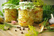 sałatka na zimę ogórki,culinia papryka