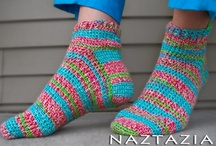 Crochet For The Feet / by Sally Ann B