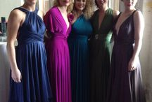 Twobirds Bridesmaids @ Frilly Frocks / Our beautiful Multi wrap and wear frocks, swoon