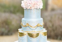 Pastel blue - Wedding Cakes / www.yevnig.com