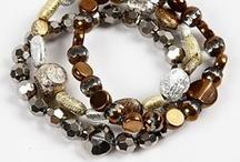 Jewelry Bracelets - black brown gold