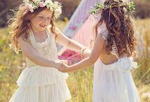 bambini e fiori